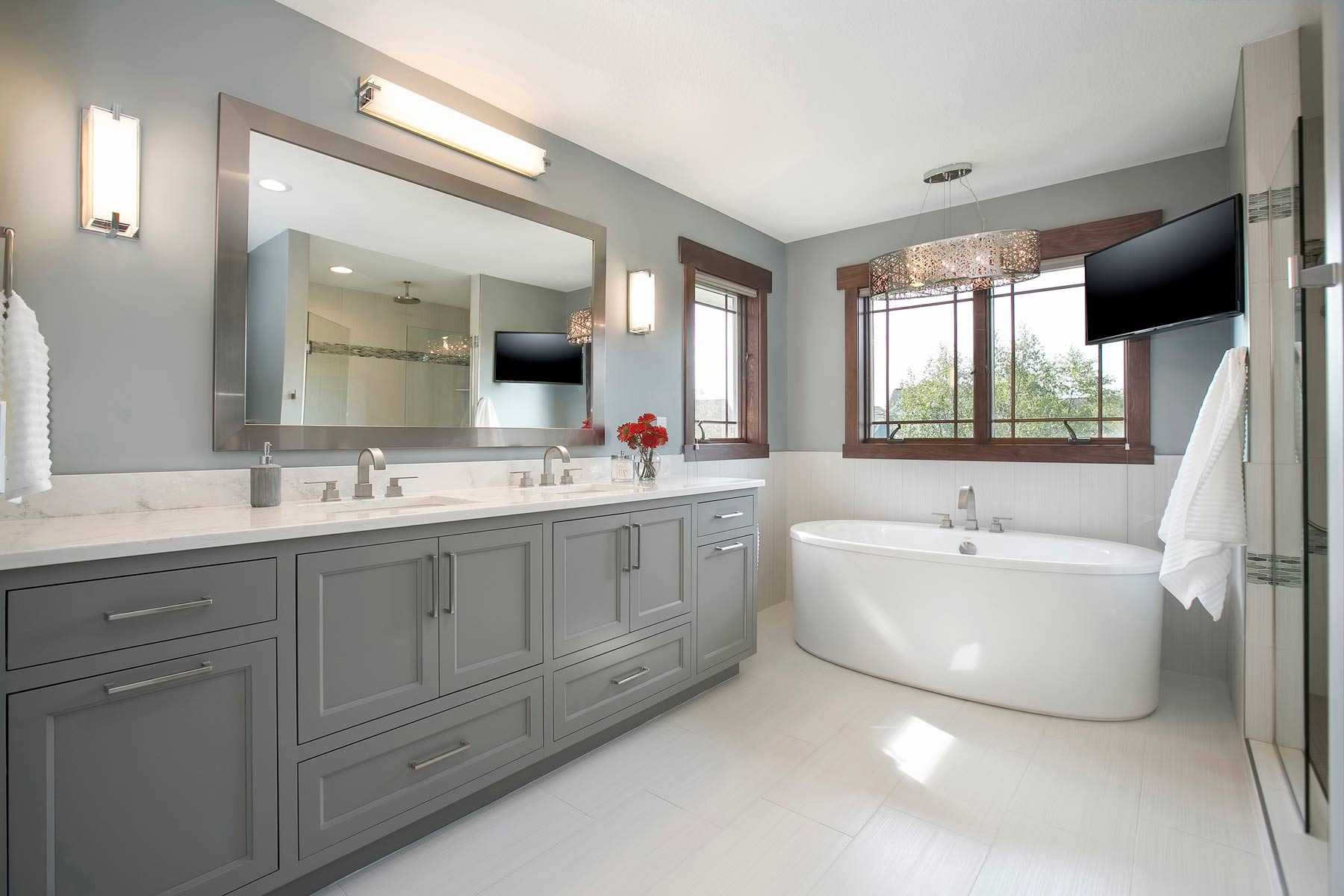Start Your Day In Style. Bathroom Remodeling