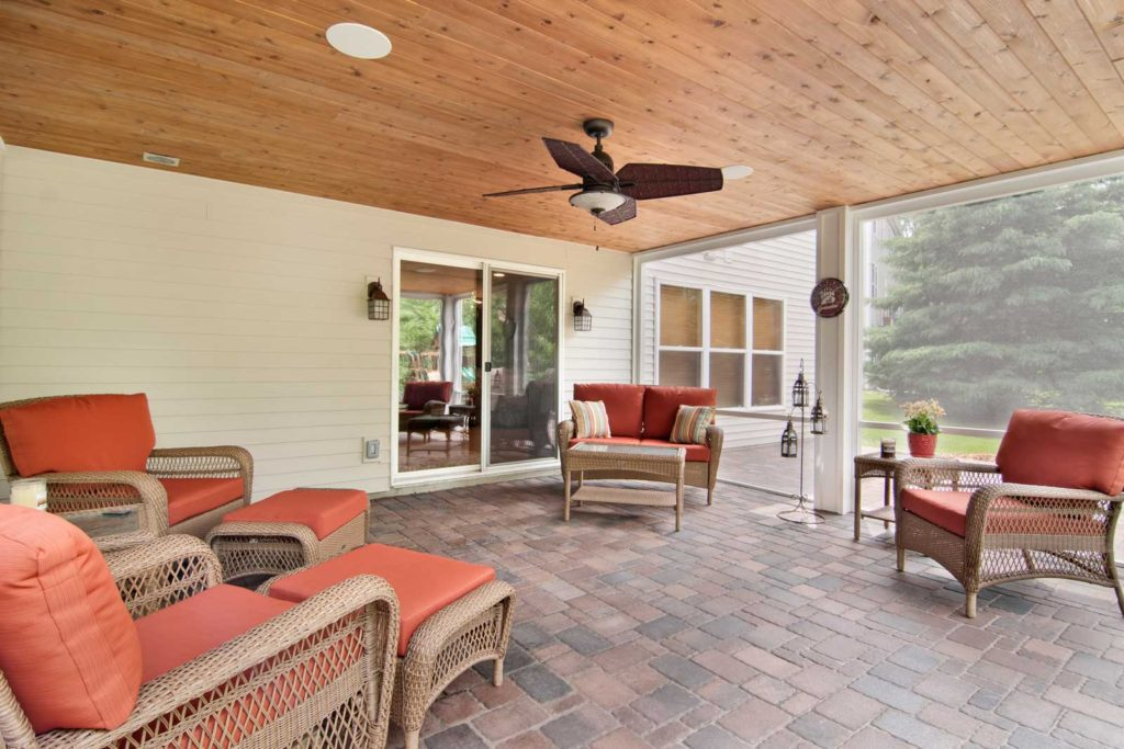 home addition contractors and patio design