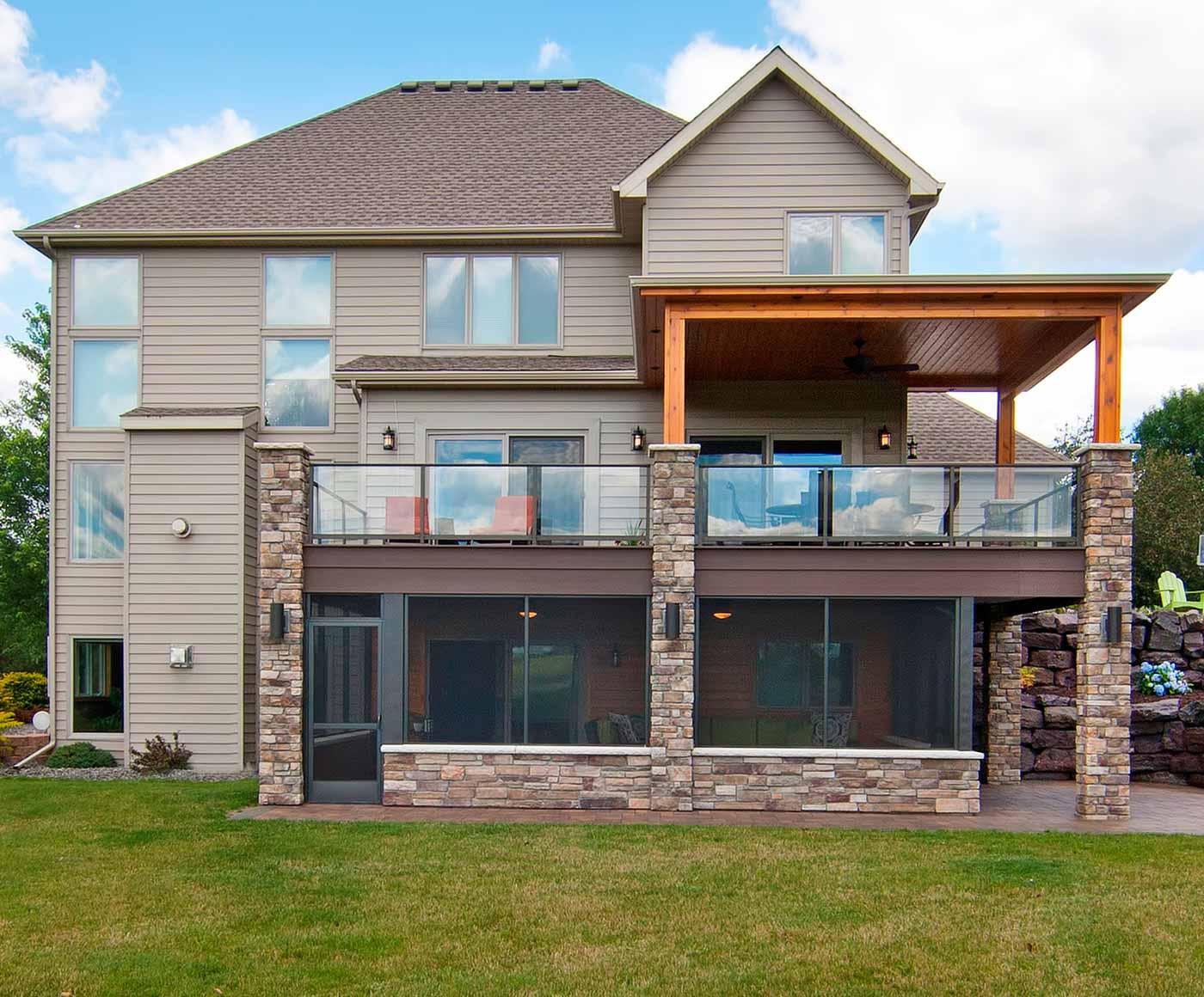 Outdoor Living Space & Backyard Gallery | James Barton Design-Build