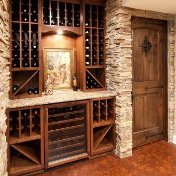 Home remodel, basement design