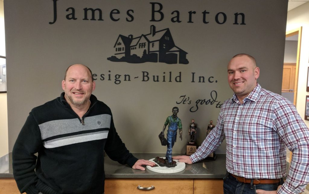 Minneapolis home remodeling company, BATC Awards Home Remodeler of the Year 2017