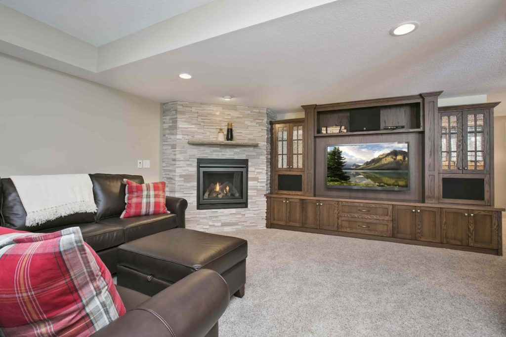 Twin Cities home remodeling, basement renovations