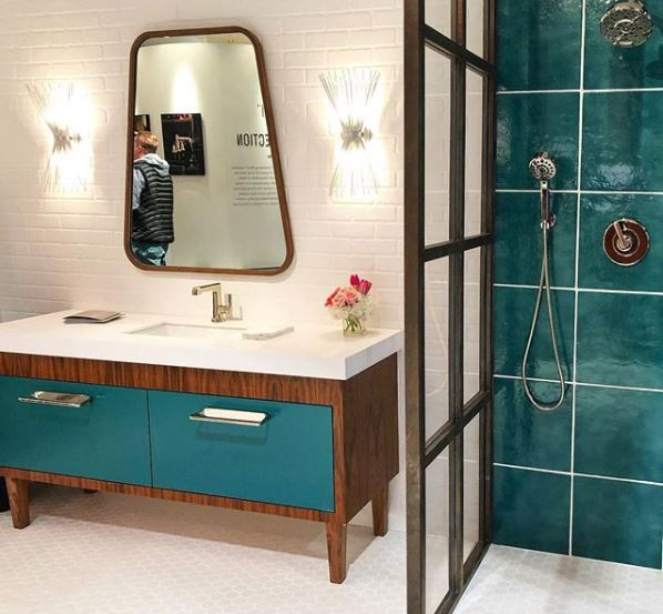 international building show, bathroom trends,