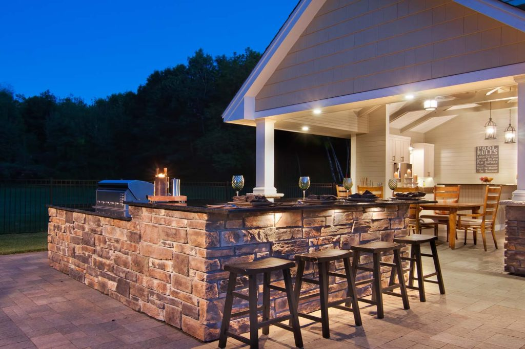 Spruce Up Your Outdoor Living Spaces | JBDB on Outdoor Kitchen Living Spaces id=40338